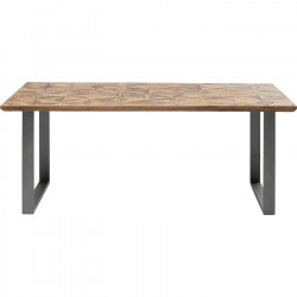 Table Stars 180x90cm acier Kare Design