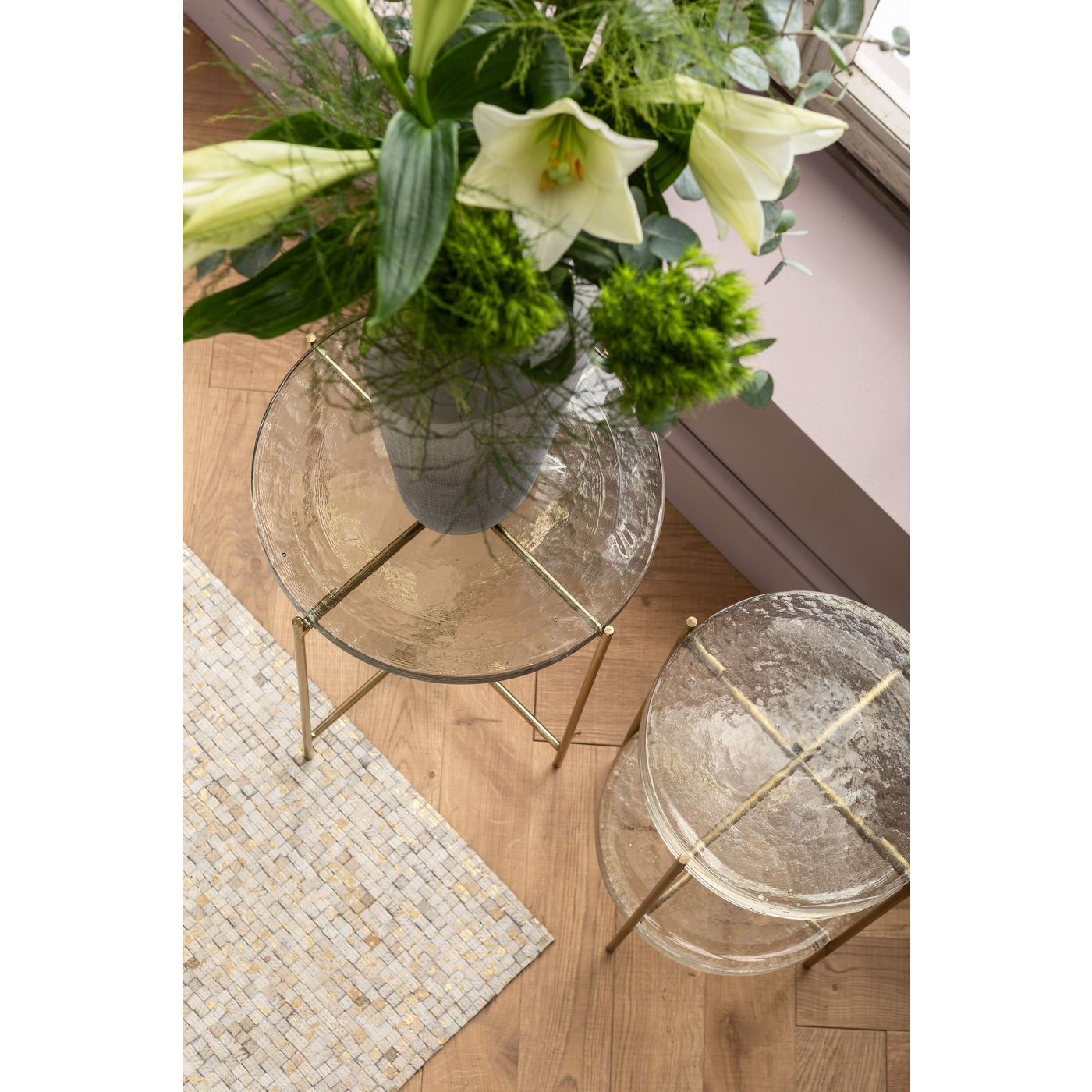 Table d'appoint Ice 40cm Kare Design