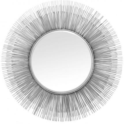 Miroir Sunburst argenté 87cm Kare Design