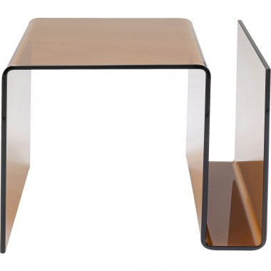 Table d'appoint Visible Amber Magazines Kare Design