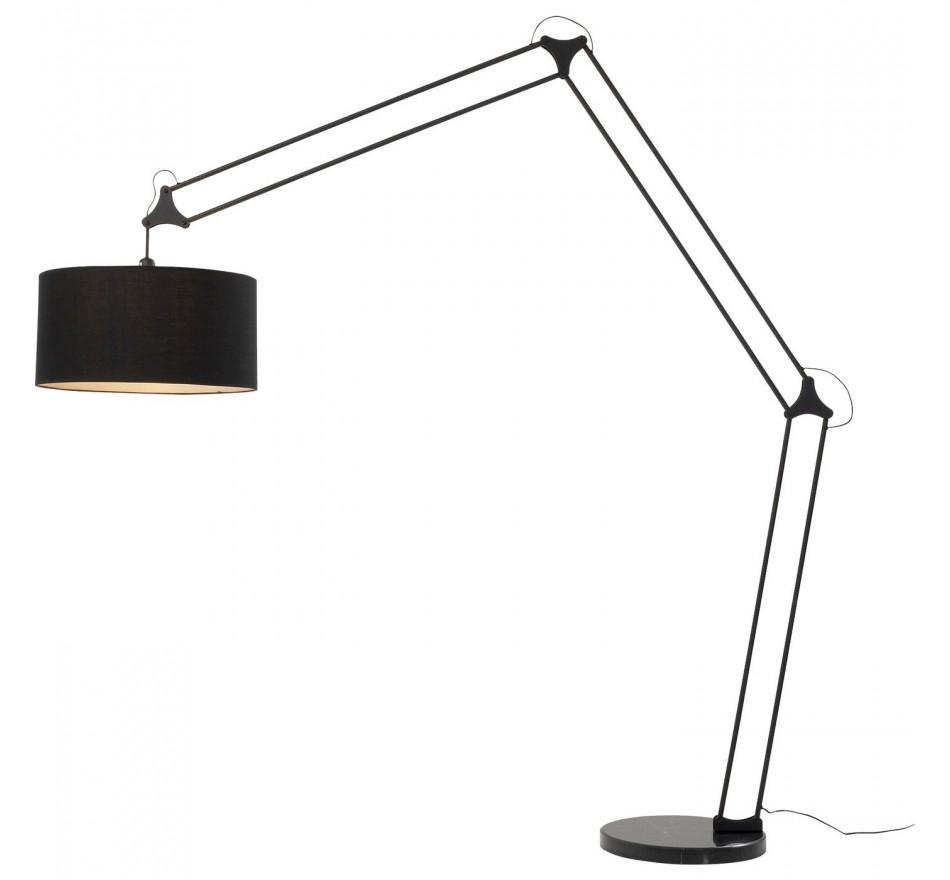 Lampadaire Geometry 220cm noir Kare Design