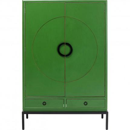 Armoire Disk verte Kare Design