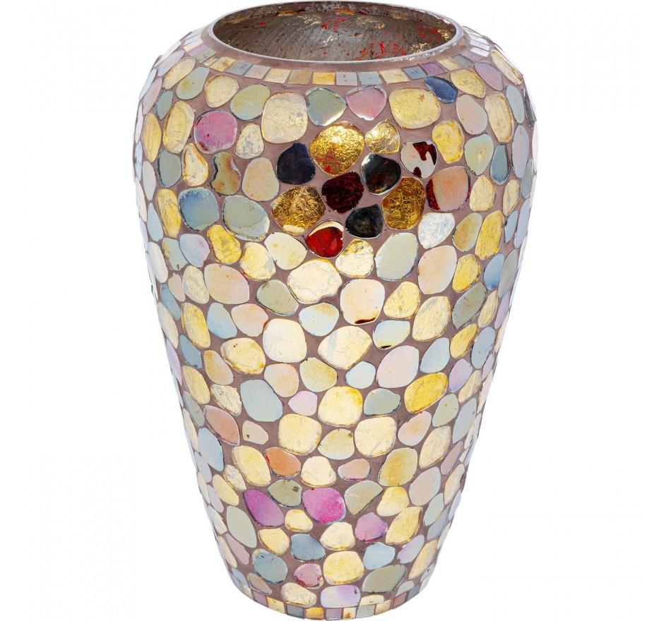 Vase Mosaic Pebbles 30cm Kare Design