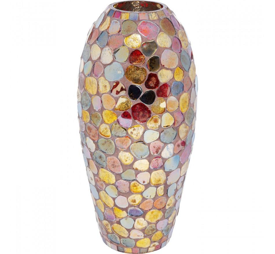 Vase Mosaic Pebbles 32cm Kare Design