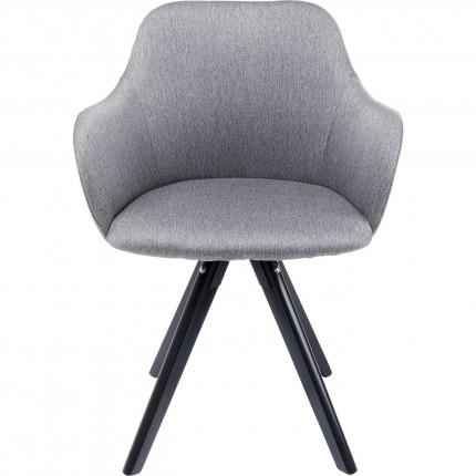 Chaise pivotante Lady Loco grise Kare Design