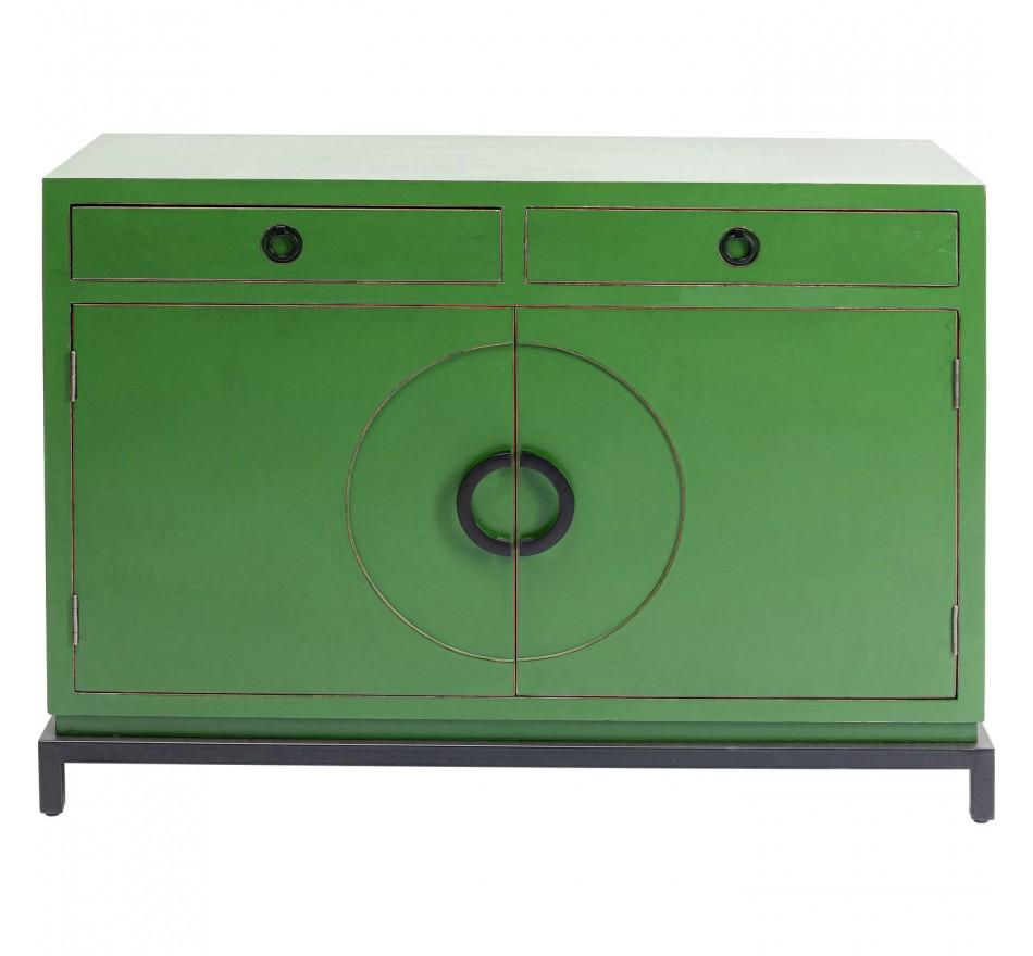Buffet Disk vert 2 portes Kare Design