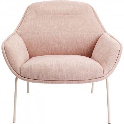Fauteuil Austin rose Kare Design