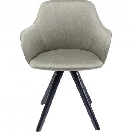 Chaise pivotante Lady Loco verte Kare Design