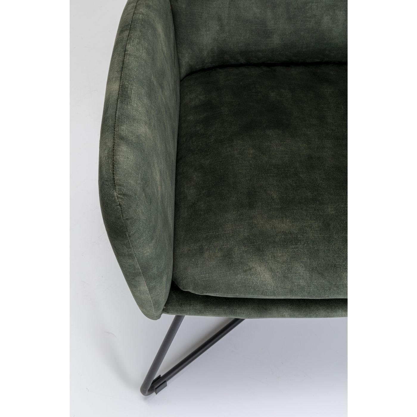 Fauteuil et repose-pieds Leeds Kare Design