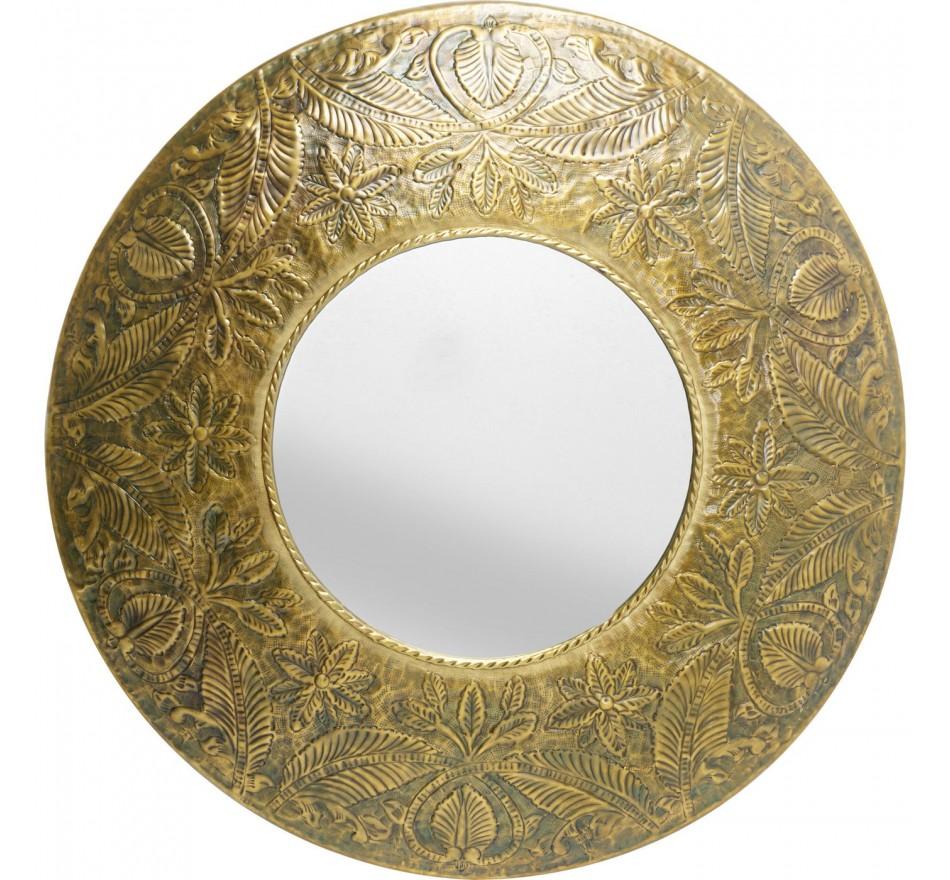 Miroir Victoria doré 110cm Kare Design
