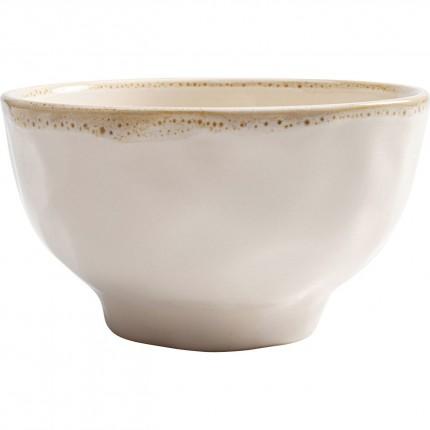 Bols Organic blancs 15cm set de 4 Kare Design