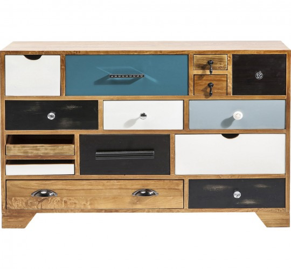Commode Babalou 14 tiroirs Kare Design