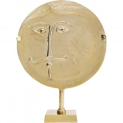 Déco Monsieur Lune doré Kare Design
