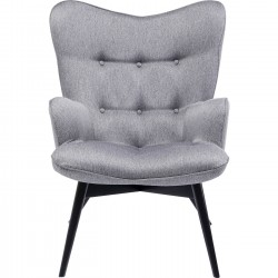 Fauteuil Vicky Loco gris Kare Design