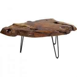 Table basse Aspen 100x60cm nature Kare Design