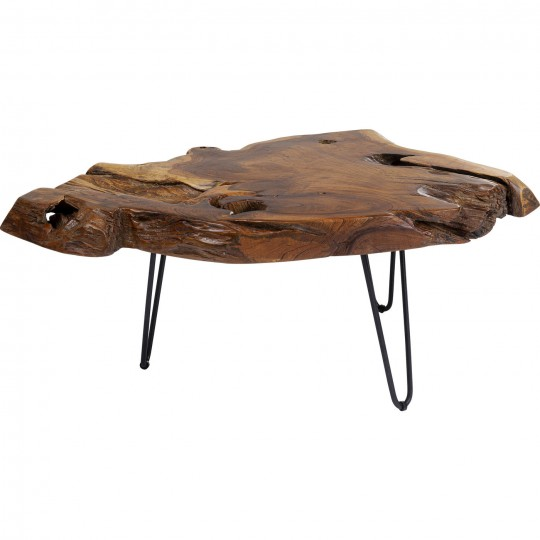 Table basse Aspen nature 100x60cm Kare Design