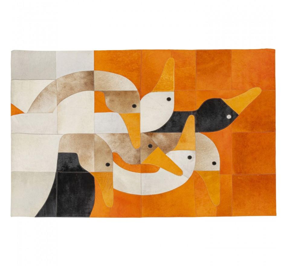Tapis famille d'oies 170x240cm Kare Design