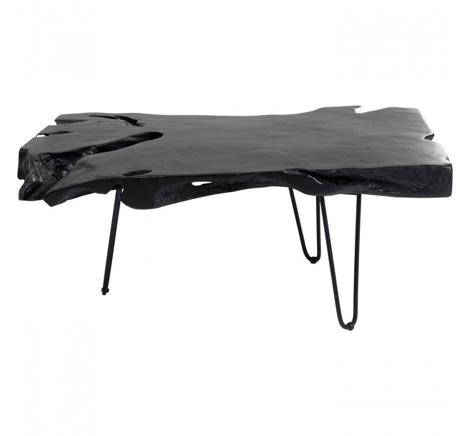 Table basse Aspen noire 100x40cm Kare Design