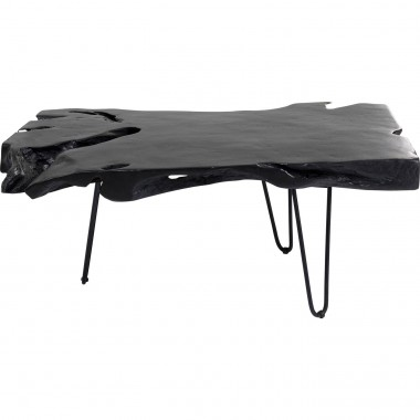 Table basse Aspen noire 100x40cm Kare Design