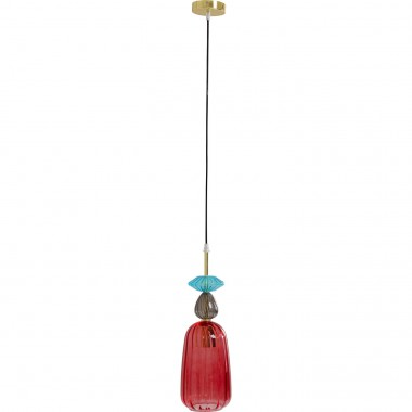 Suspension Goblet Colore Uno rouge Kare Design