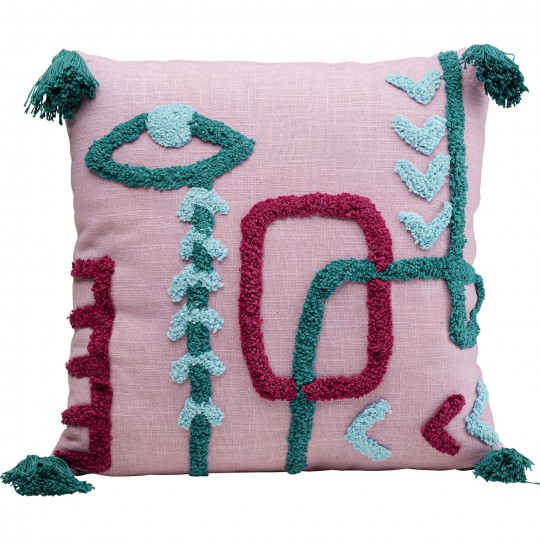 Coussin Abstract Art 45x45cm Kare Design