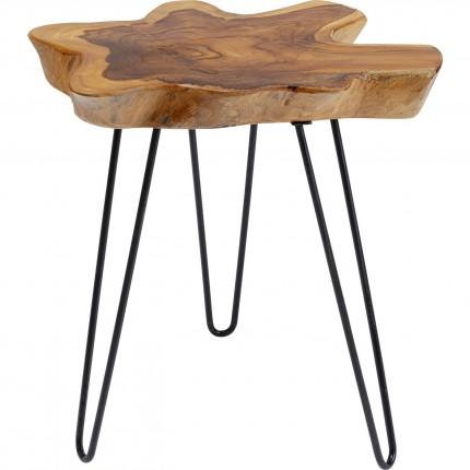 Table d'appoint Aspen 50x50 nature Kare Design