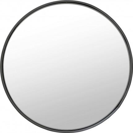 Miroir Ombra Soft noir 60cm Kare Design