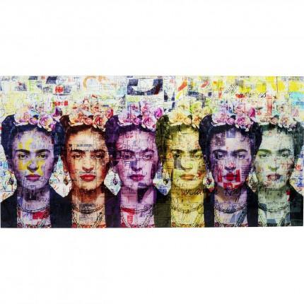 Tableau en verre Frida 160x80cm Kare Design