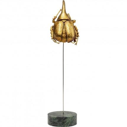 Déco scarabée doré 27cm Kare Design