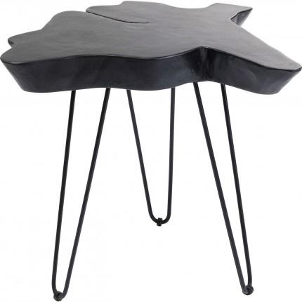 Table d'appoint Aspen 50x50cm noire Kare Design