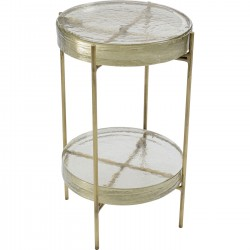 Table d'appoint Ice double 30cm Kare Design