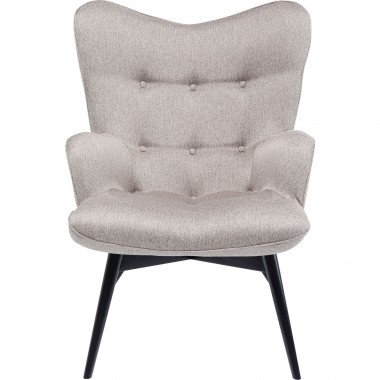 Fauteuil Vicky Loco taupe Kare Design