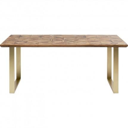 Table Stars 180x90cm laiton Kare Design