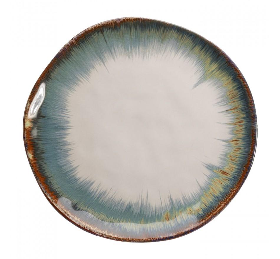 Assiettes Organic blanches 26cm set de 4 Kare Design