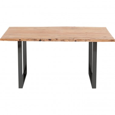 Table de bar Harmony acacia noire 160x80cm Kare Design