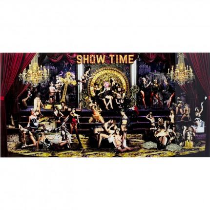 Tableau en verre Showtime 180x90cm Kare Design