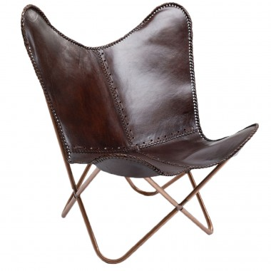 Fauteuil Butterfly Brown Kare Design