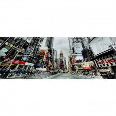 Tableau en verre Broadway Avenue 160x60cm Kare Design