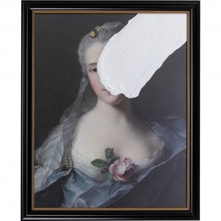 Peinture à l'huile Frame Duchesse Incognito 80x100cm Kare Design