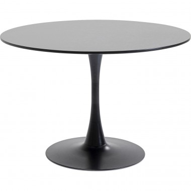 Table Schickeria noire 110cm Kare Design