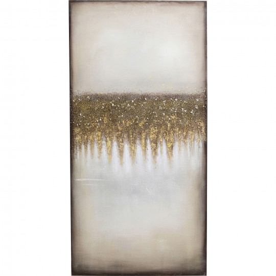 Tableau Abstract Fields 100x200cm Kare Design