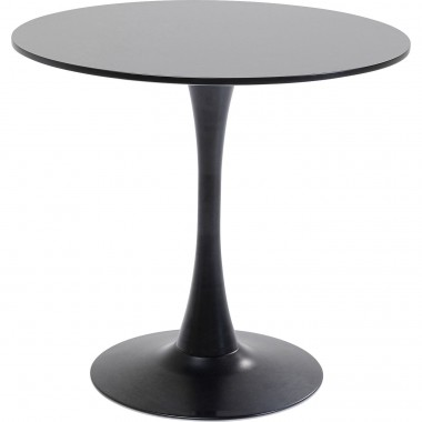 Table Schickeria noire 80cm Kare Design