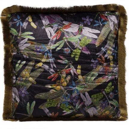 Coussin Tropical Garden Fringe 45x45cm Kare Design