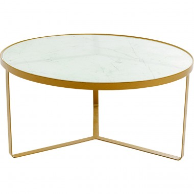 Table d'appoint Marble or 55cm Kare Design
