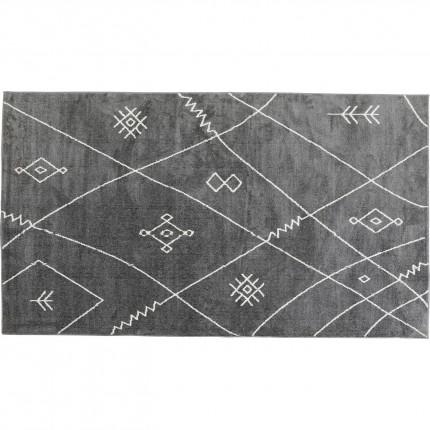 Tapis Art Signs gris 170x240cm Kare Design