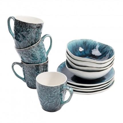 Set de petit-déjeuner Mustique Kare Design