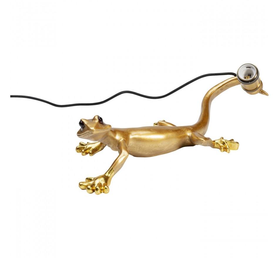 Applique murale gecko doré Kare Design