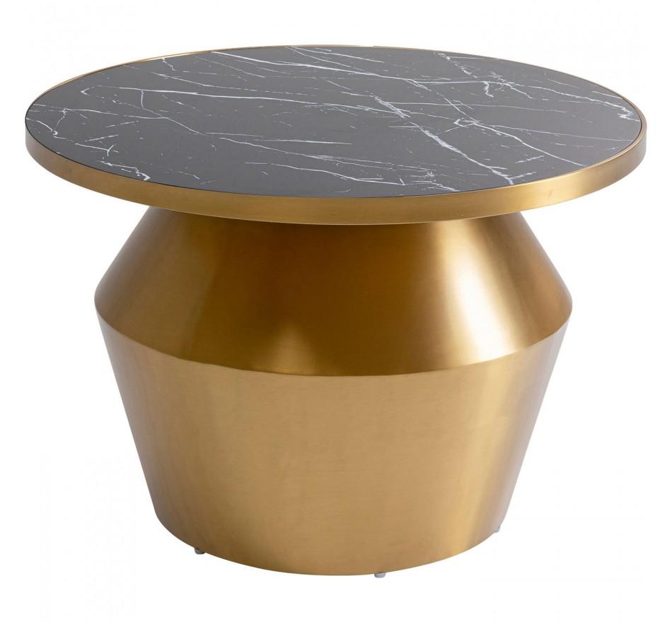 Table basse Wonder noire 60cm Kare Design