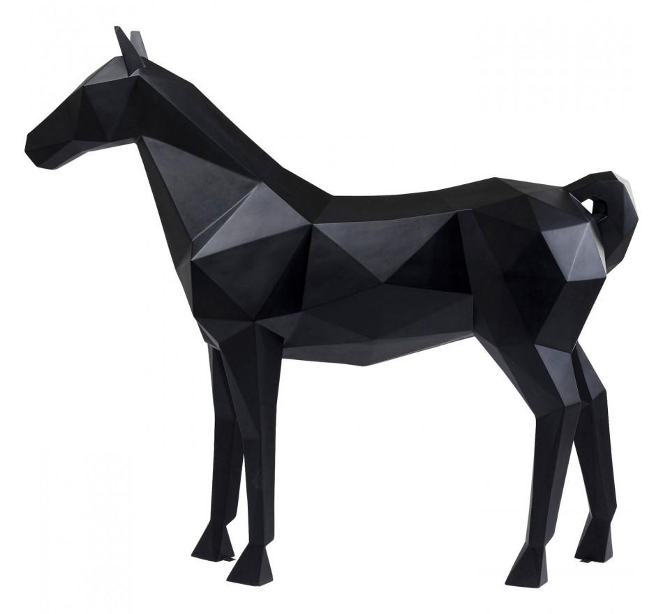 Déco cheval origami XXL 190cm Kare Design