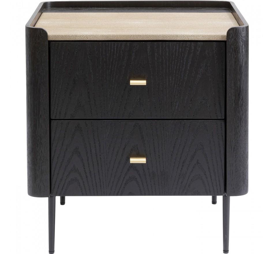 Chevet Milano 2 tiroirs Kare Design